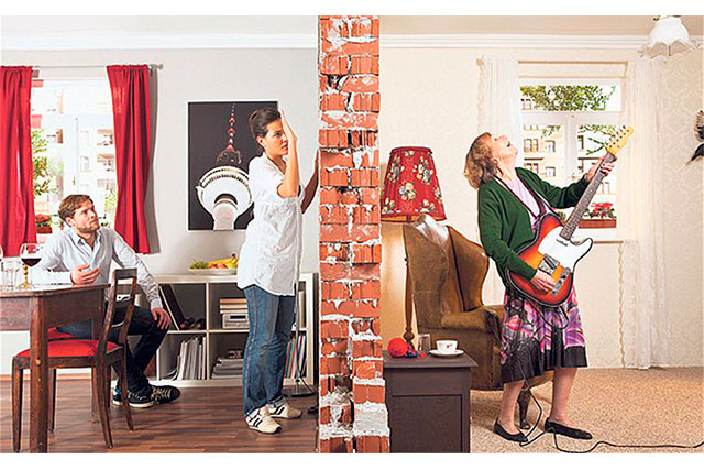 Reduzco ruido en condominio