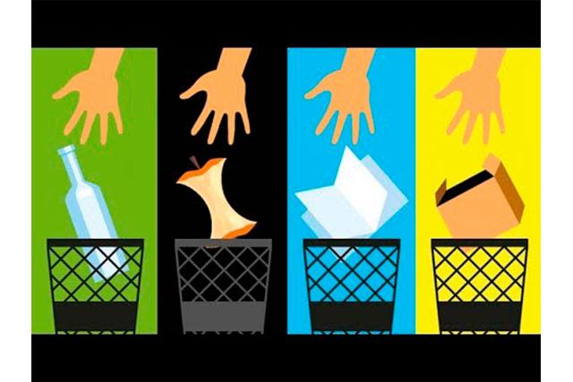 Separa los desechos